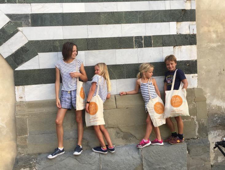 Italiaanse les voor kinderen