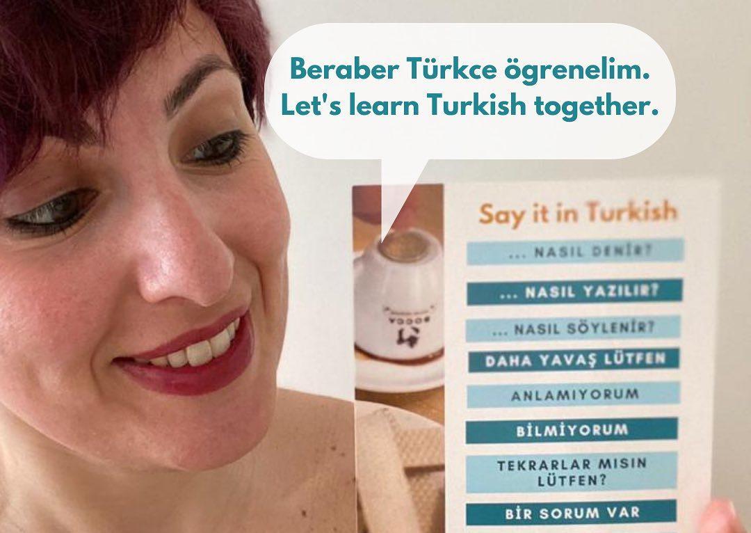 Turkish teacher Melike Sayman - Taalhuis Amsterdam