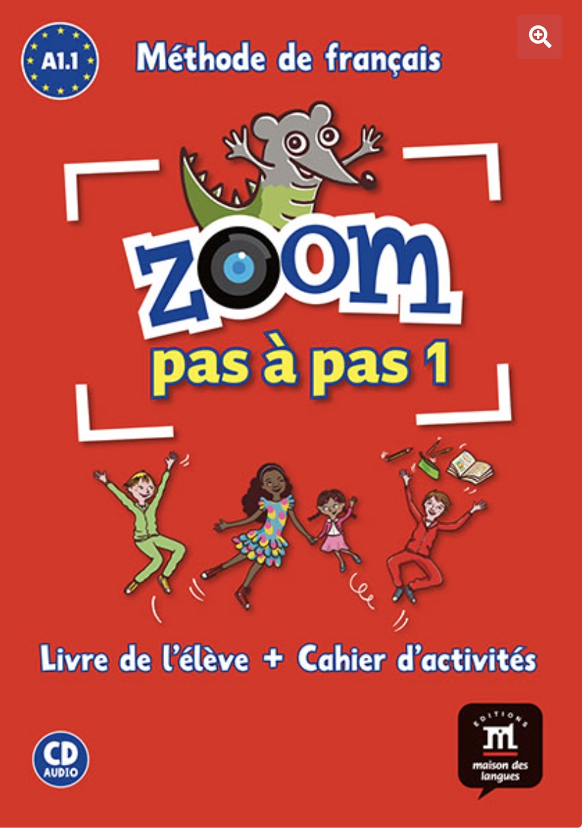 Zoom pas à pas. French for children in Amsterdam